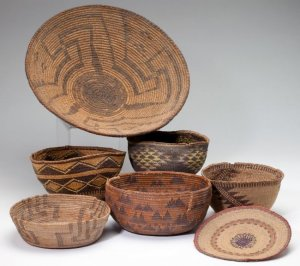Indian baskets  2